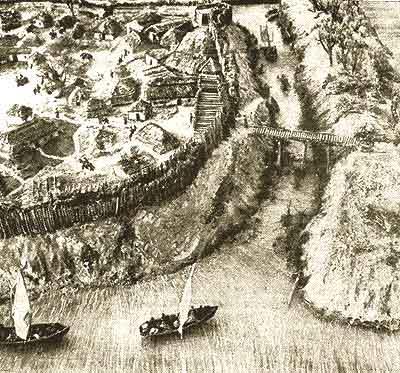 Макет города Черкасска