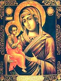 Икона  Богородицы Гребневской