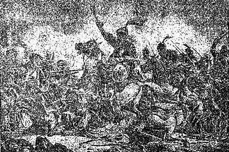 Кровавые битвы в поле с татарами
